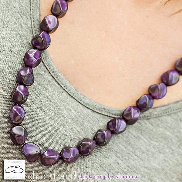 Chic Strand - Dark Purple Shimmer