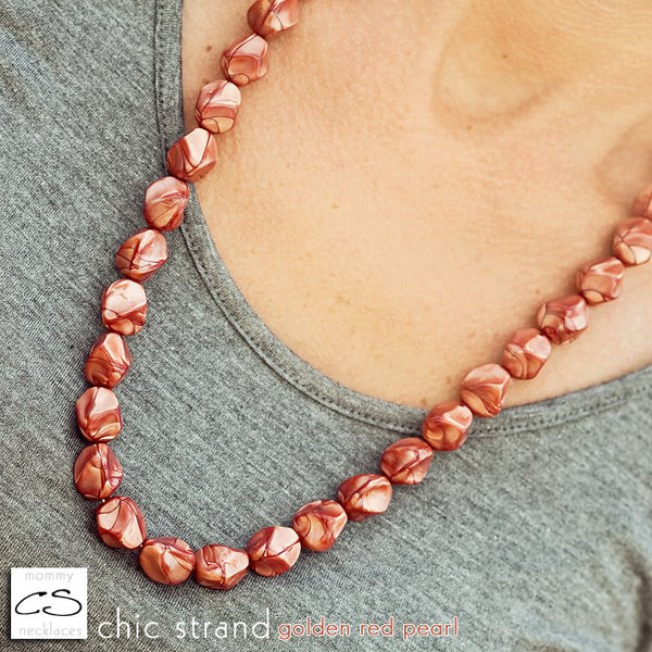 Chic Strand - Golden Red Pearl