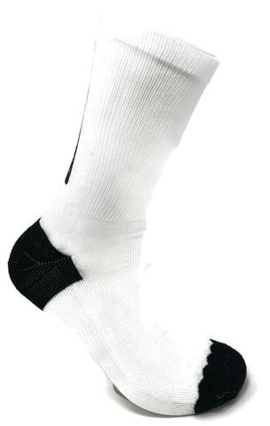 Pedal White SUBLIMATED SOCK