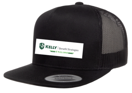 Kelly Benefits '19  Trucker Flat Bill Adjustable - ships in about 3 weeks