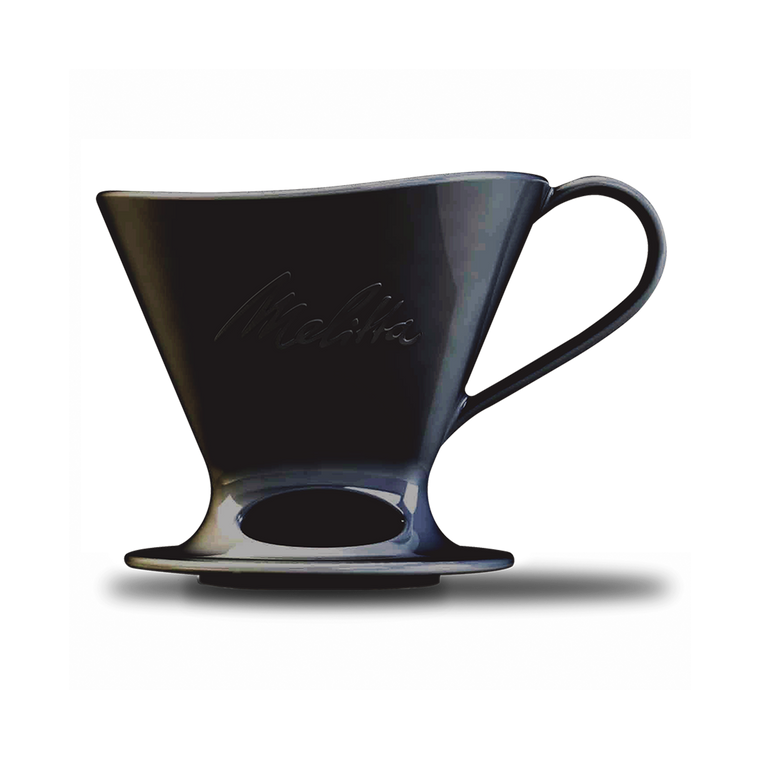 Signature Series Pour-Over™ Coffeemaker - Matte Black Porcelain, 1-Cup