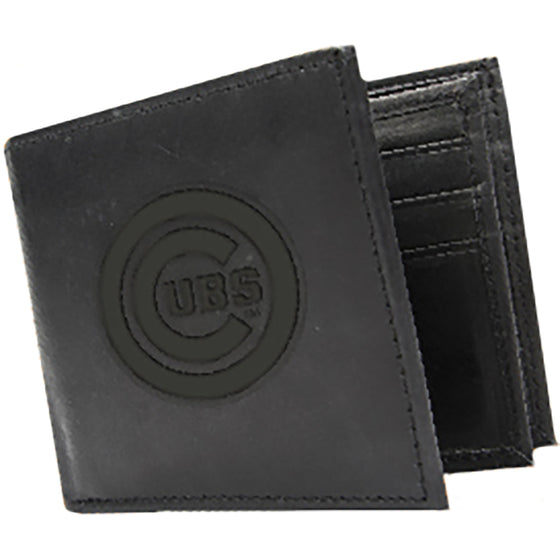 Chicago Cubs Leather Wallet