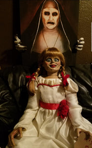 The Conjuring Animatronic Annabelle Doll Prop