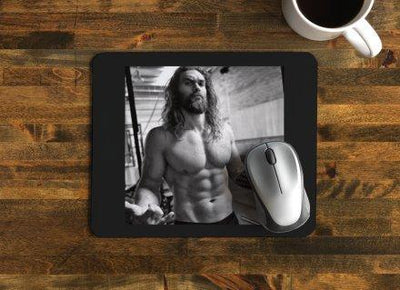 Jason Momoa Mousepad TIGC The Inappropriate Gift Co