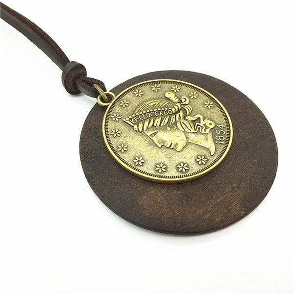 Necklace with a Vintage Pendant