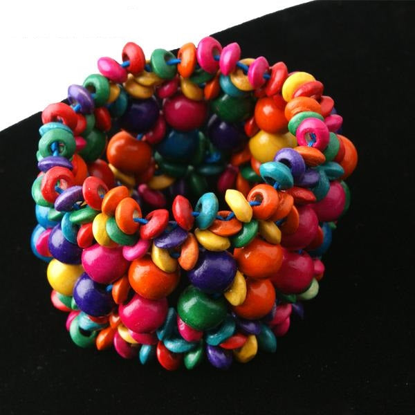 Bohemian Fashion Wood Beads Bracelet