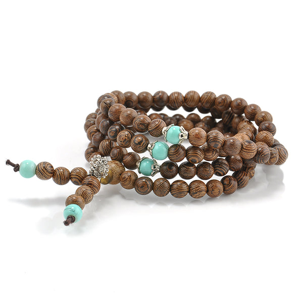 Sandalwood Buddhist Meditation Prayer Bracelet