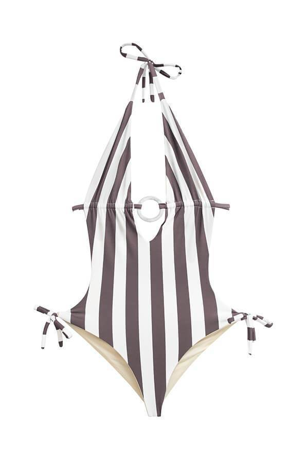 MAYLANA Nina Sandy Stripes One Piece