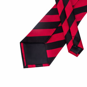 Red Stripped Tie - Venture Travel City