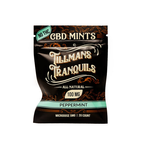 Tillmans Tranquils - CBD Mints 100mg