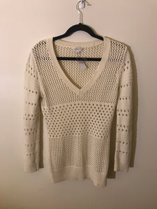 Witchery cream knit jumper Size Small (6-8 estimate)