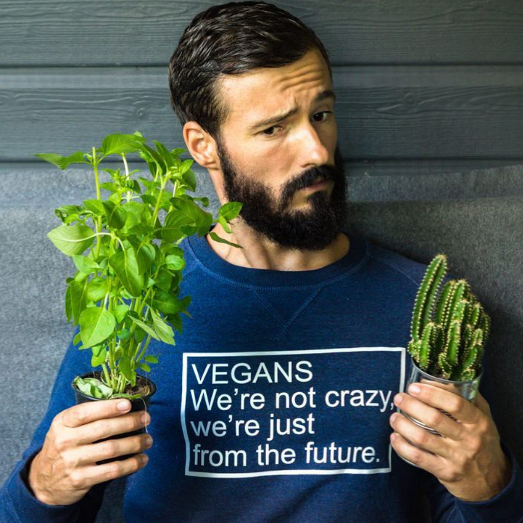 Tshirt vegans we are not crazy