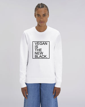 VEGAN IS THE NEW BLACK - SWEATSHIRT