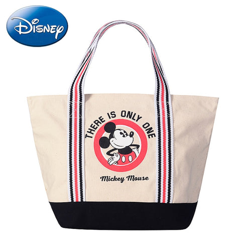 Mickey Mouse Canvas Zipper Tote
