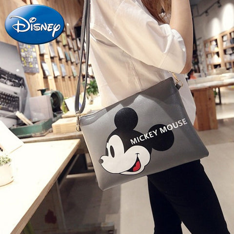 Mickey Mouse Faux Leather Handbag
