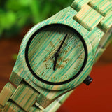 Women Bamboo Quartz Wooden Watch - Amazing Steals N Deals