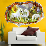Unicorn Paradise Wall Decal - Amazing Steals N Deals