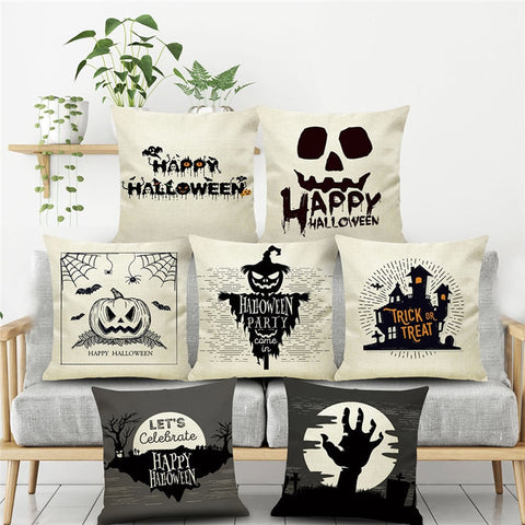 Halloween Throw Cushion Cover In 10 Designs