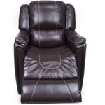 Lippert 380401 Swivel Glider/Recliner in Jaleco Chocolate
