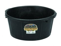 Rubber 6.5 Gallon Tub
