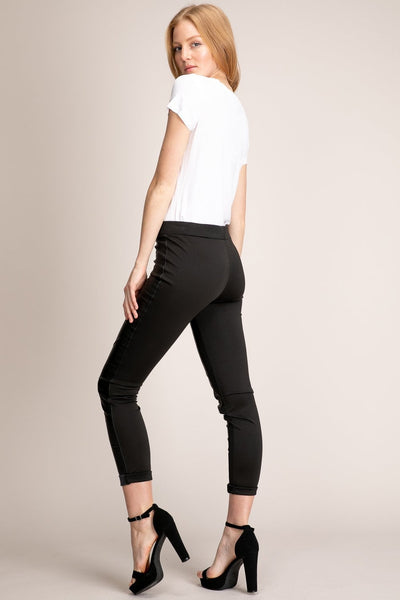 Black Runway Leggings
