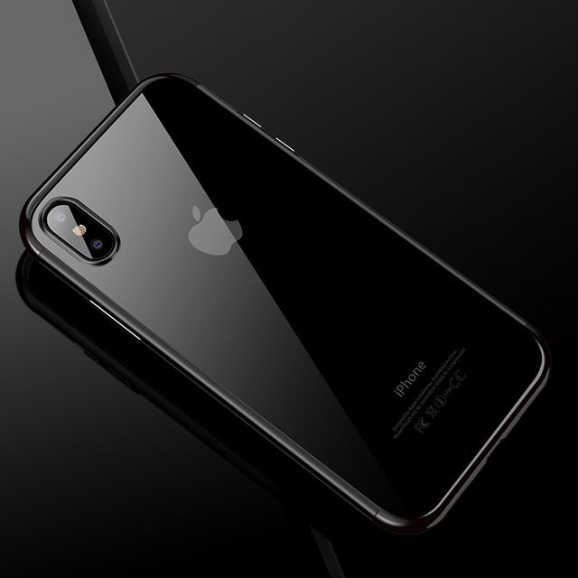 iPhone X: Transparent Case (Soft Cover)