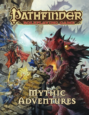 Pathfinder RPG: Mything Adventures Book