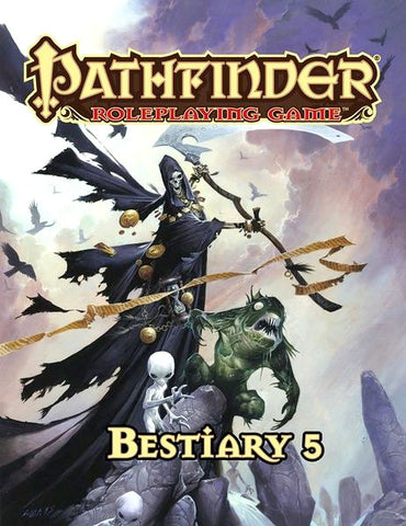 Pathfinder RPG: Bestiary 5 Book