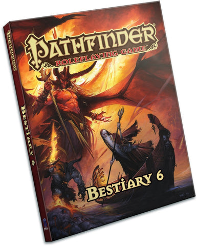 Pathfinder RPG: Bestiary 6 Book