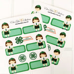 4 H Planner Stickers