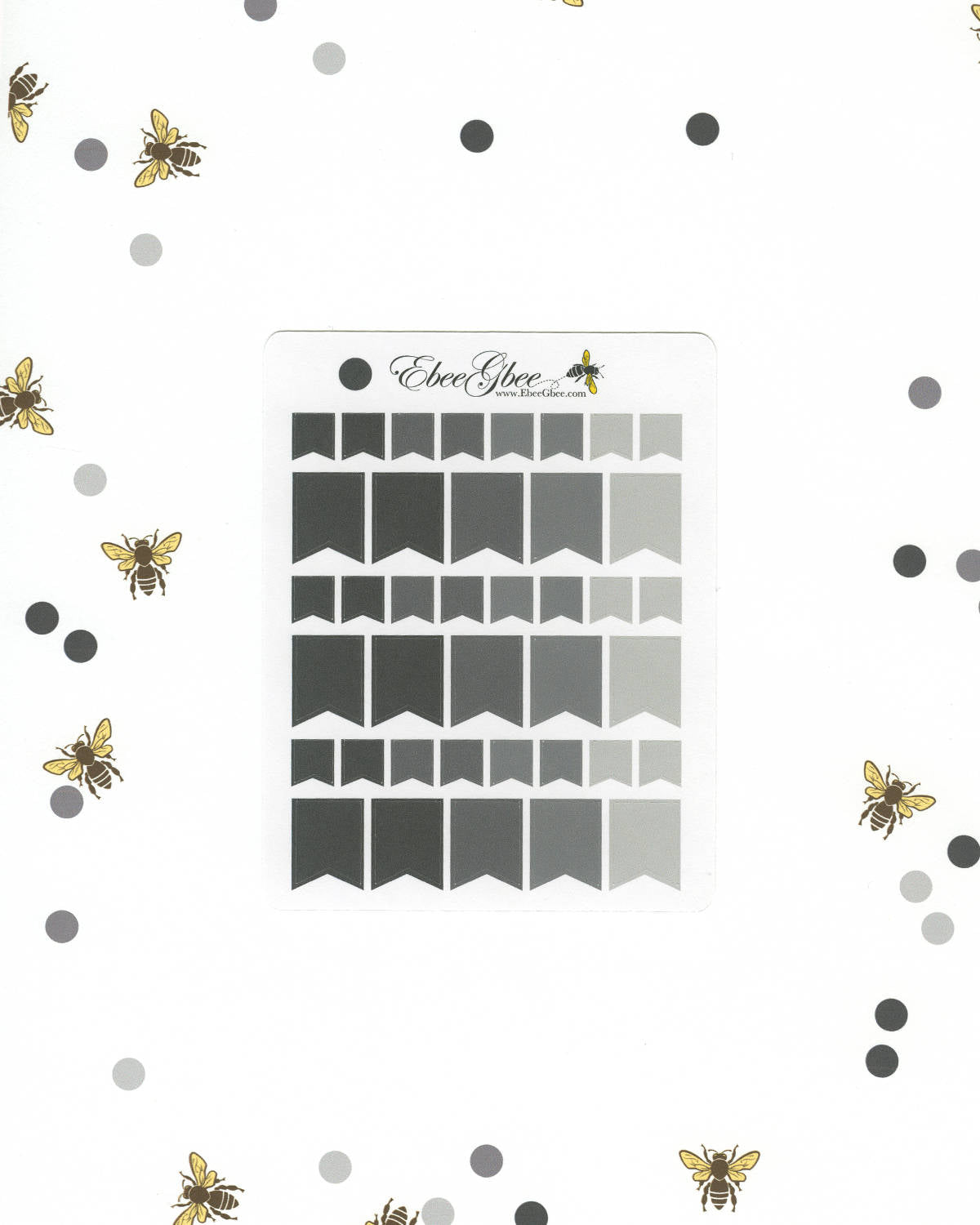 STORM FLAGS Planner Stickers | BeeColorful