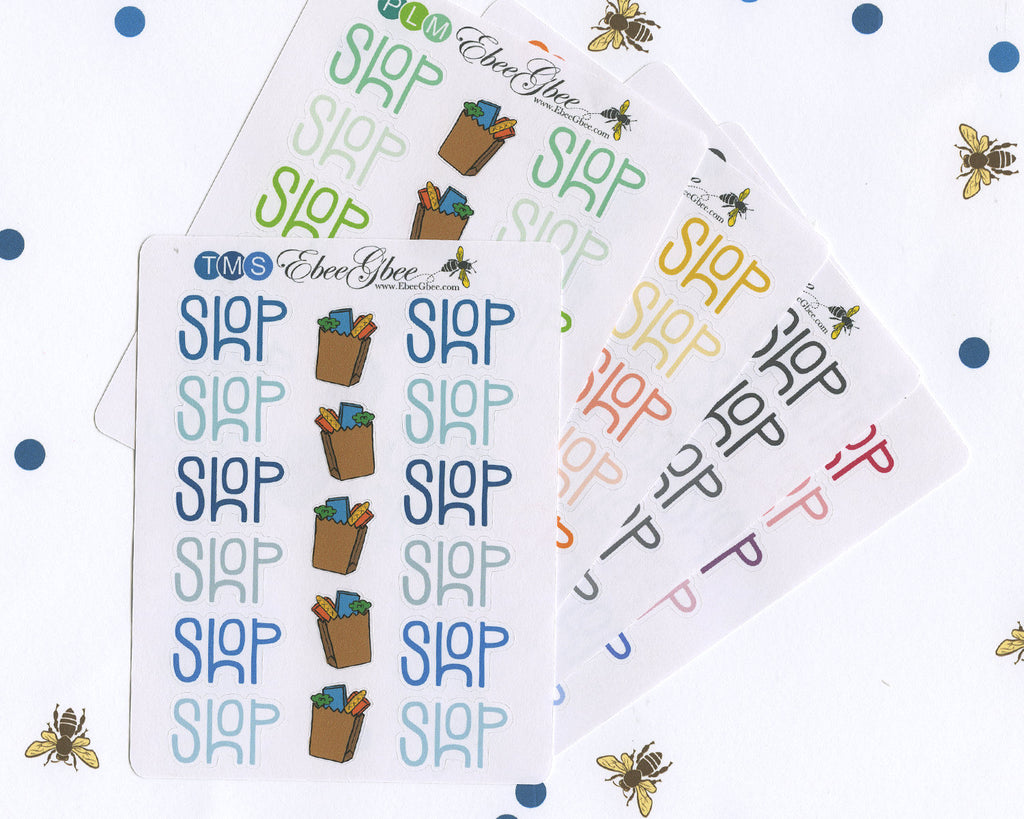 SHOP Planner Stickers |  BeeColorful
