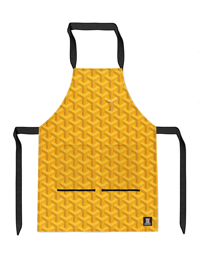 Saint Honore - Classic Yellow APRON Headliners.co - Headliners.co
