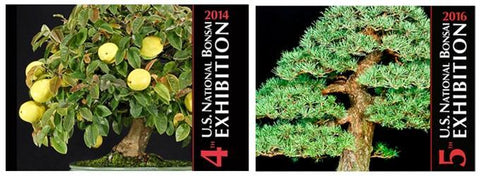 Commemorative Albums, 4th & 5th U.S. National Bonsai Exhibitions