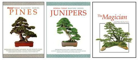 Masters Series Bonsai Books - Set of Three