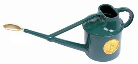 Hard Plastic Watering Can by Haws - 1.5 gallons