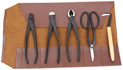 Roshi Set of 5 High Carbon Steel Bonsai Tools