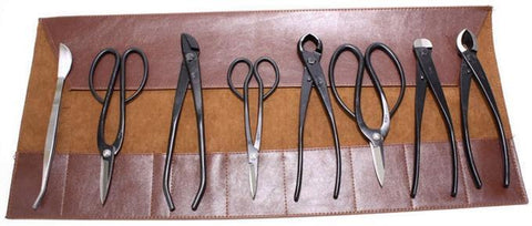 Roshi Set of 8 High Quality Bonsai Tools