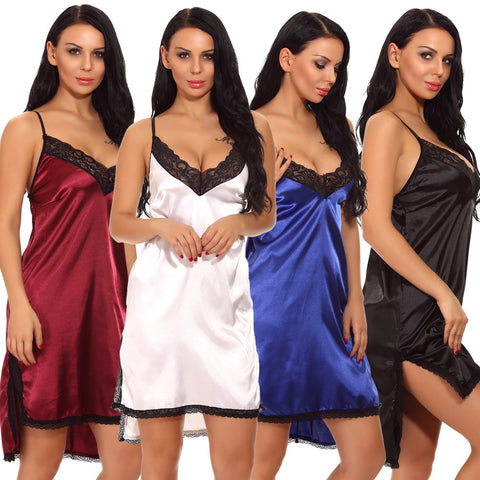 Satin Nighthgowns