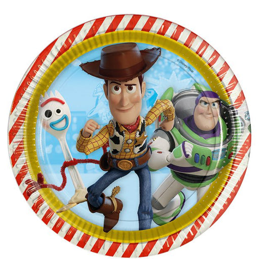 Lunch Plates - Toy Story Theme