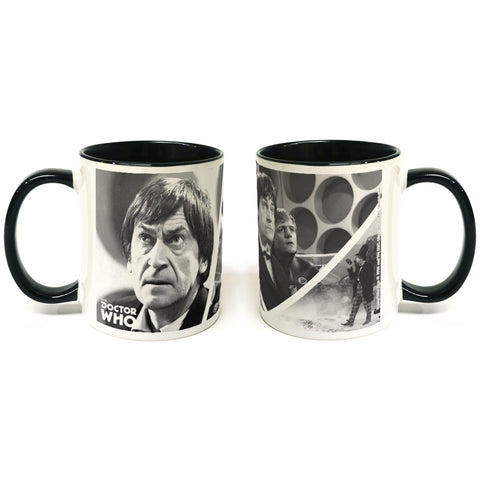 Second Doctor Photographic Colour Insert Mug