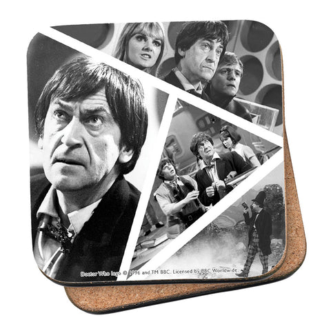 Second Doctor Photographic Coaster