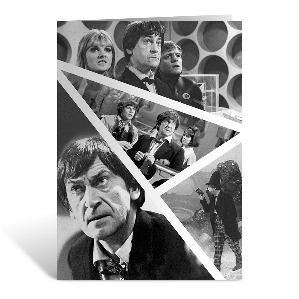Second Doctor Photographic Greeting Card