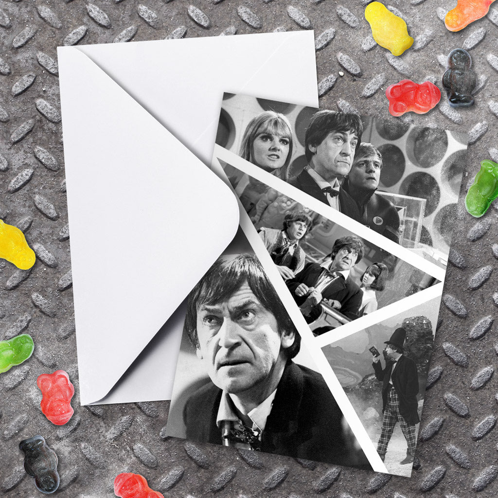 Second Doctor Photographic Greeting Card (Lifestyle)