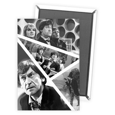 Second Doctor Photographic Magnet