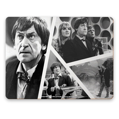 Second Doctor Photographic Placemat