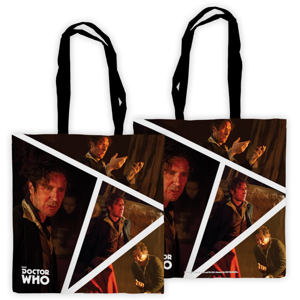 Eighth Doctor Photographic Edge to Edge Tote