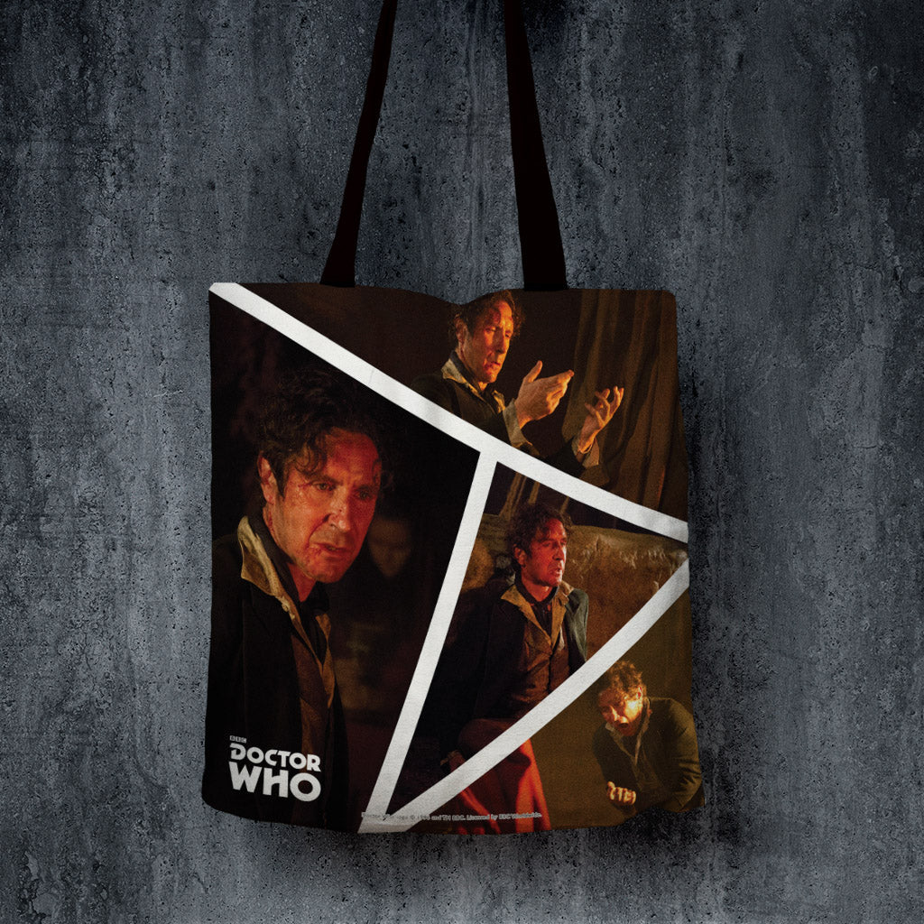 Eighth Doctor Photographic Edge to Edge Tote (Lifestyle)