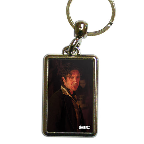 Eighth Doctor Photographic Metal Keyring