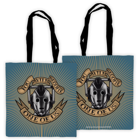 Pinup Cyberman Edge to Edge Tote